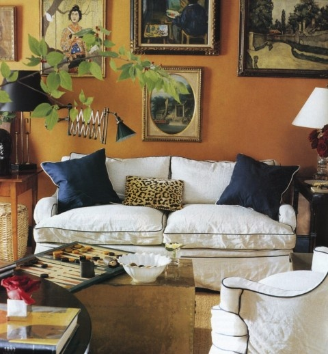 fall living room inspiration